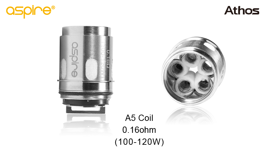 Aspire Athos Replacement coil heads (1 pack)