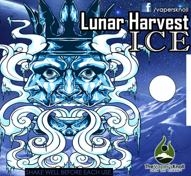 *Lunar Harvest ICE 30ml Bottle MAX VG PREMIUM E-LIQUID