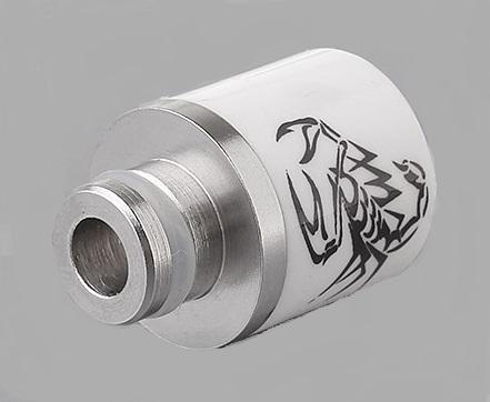 Scorpion ceramic hybrid stainless steel 510 drip tips