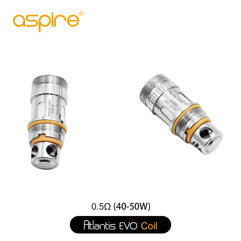 Aspire Atlantis Evo CLAPTON Replacement Coils (5 Pack)