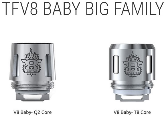 SMOK BABY TFV8 Replacement Coils (5 Pack)